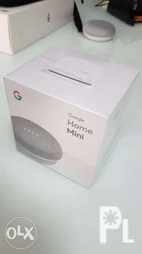 Google Home Mini Chalk Sealed Brand New