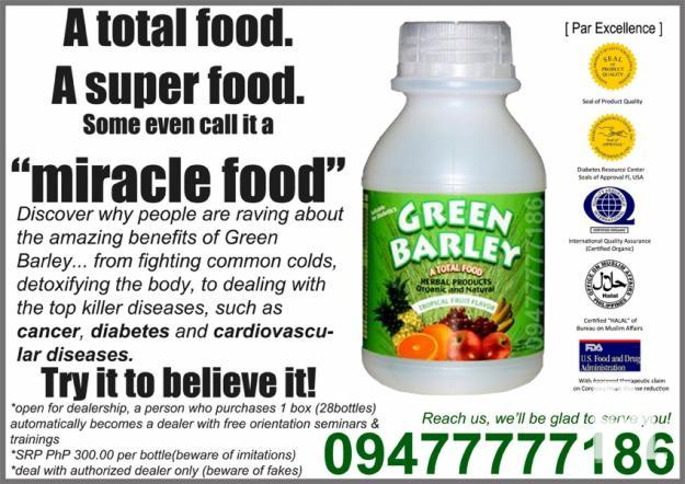 GREEN BARLEY! [AUTHENTIC]