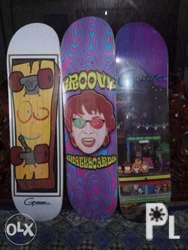 Groove skateboard deck for Sale in Quezon City, National