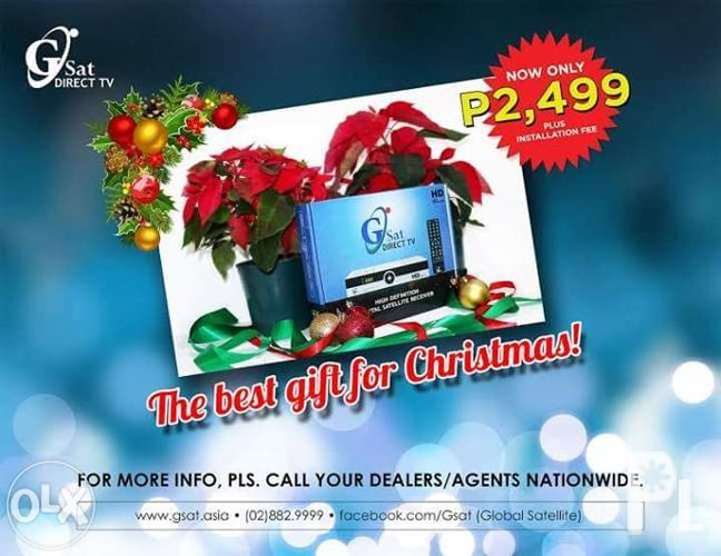 GSAT HD - Your perfect holiday gift to your friends &
