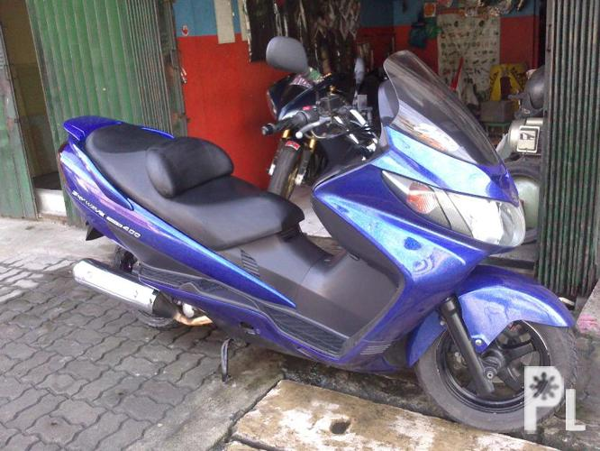 Gsxr 750 2007 and suzuki skywave 400 type s ? Manila