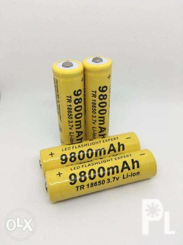 GTF 9800mAh TR 18650 3 7v Li-ion Rechargeable Battery for