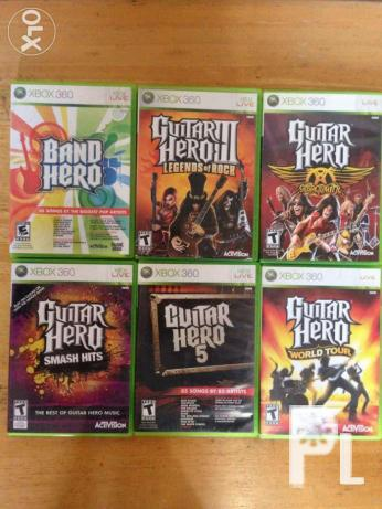 Guitar Hero XBOX 360 for Sale in Taguig City, National Capital