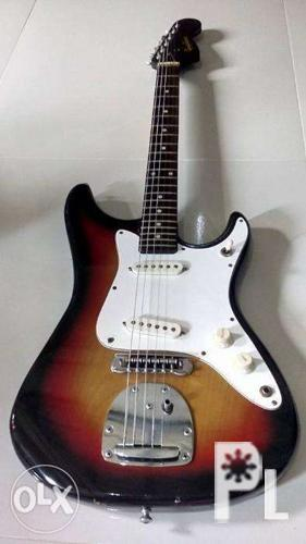 Guyatone stratocaster electric guitar