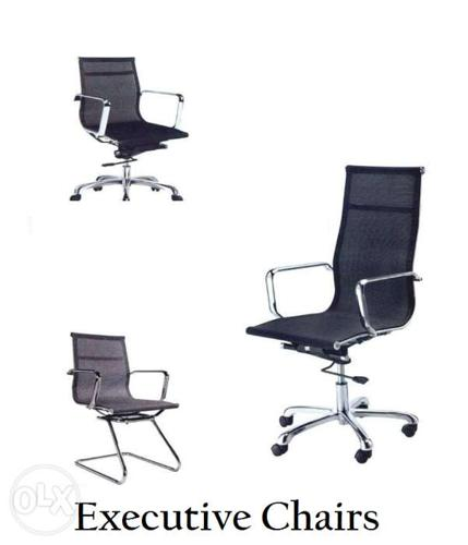 High Back Chairs Office Partition For Sale In Quezon