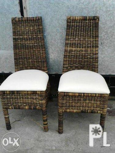 High backrest abaca Chair
