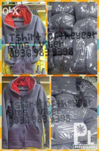 Hoodies with zipper 380 each, direct patahian