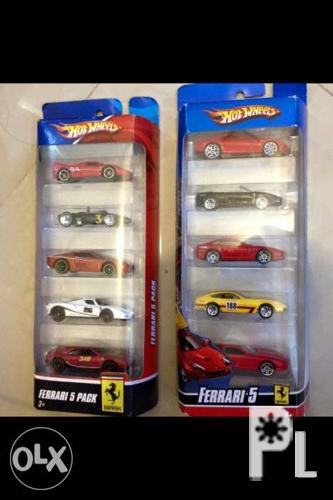 Hotwheels Ferrari 5pack Diecast Toy Car For Sale In San Mateo