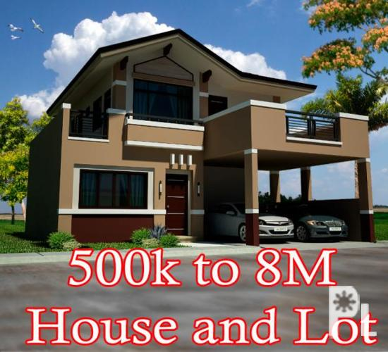 House And Lot For Sale At Cavite, Tagaytay And Laguna By