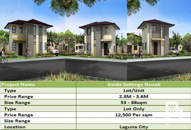 House and lot for sale in laguna city by avida settings for Laguna house for sale
