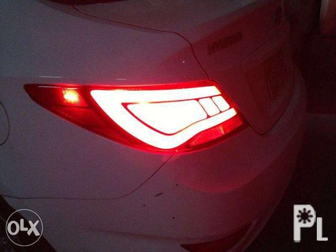 Hyundai Accent sonata Santa Sta Fe led tail light lamp for Sale in Quezon City, National Capital ...
