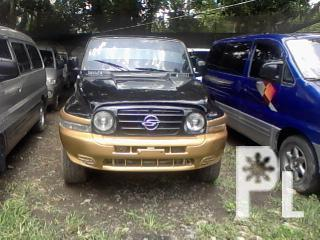 HYUNDAI GALLOPER 4X4 TURBO 255k as is 230k