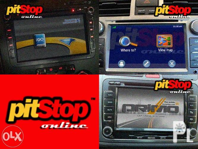 IGO8, Primo, Garmin: Window_CE Car GPS Navigation SD CARD for Sale