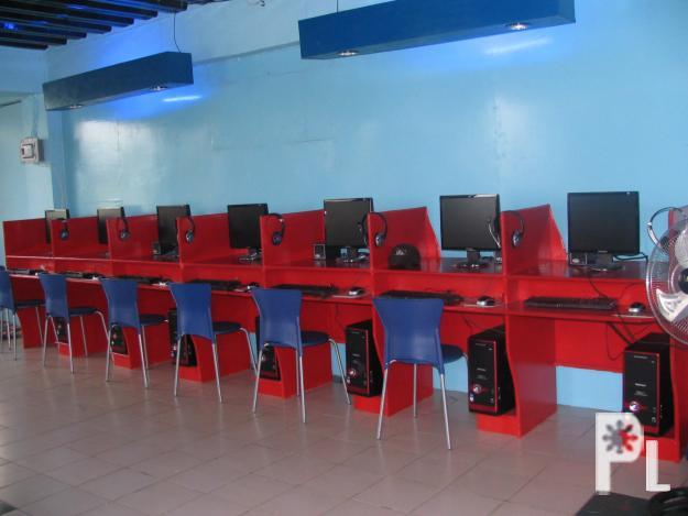 Computer Table For Internet Cafe