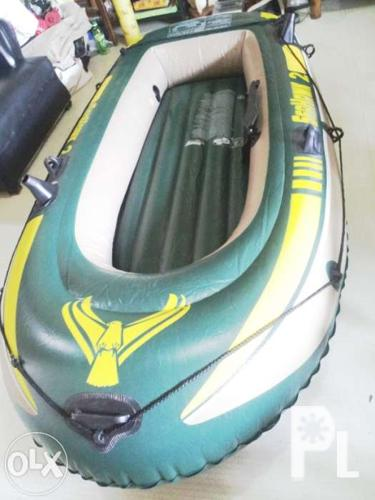 Intex seahawk2 inflatable fishing boat for Sale in Angeles