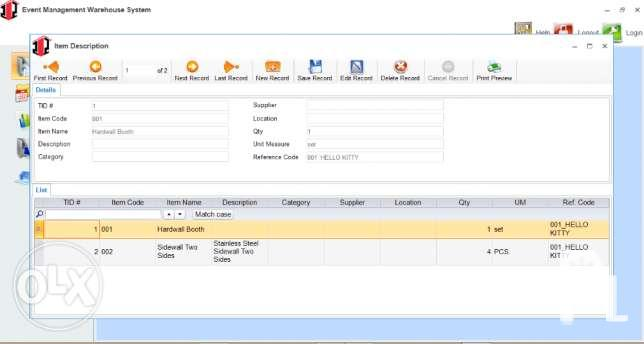 Inventory Management System Warehouse Software for Sale in Caloocan