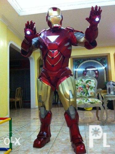 Iron Man War Machine Costume Character Hire Rent