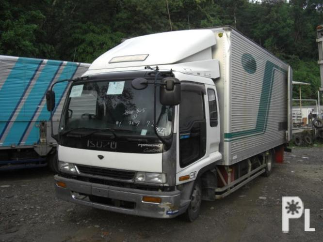Japan Surplus Trucks - ISUZU Forward - 6HH1 Engine ?