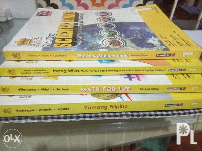 K12 Books Grade 1 and 2 for Sale in Valenzuela City, National