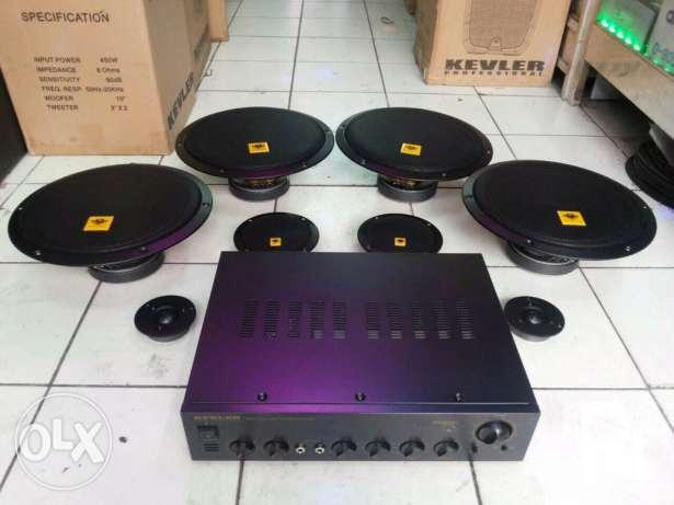 what size amplifiers for speakers