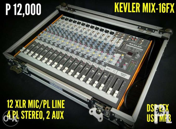 Kevler Mix-16FX Audio Mixer for Sale in San Mateo, Cagayan Valley