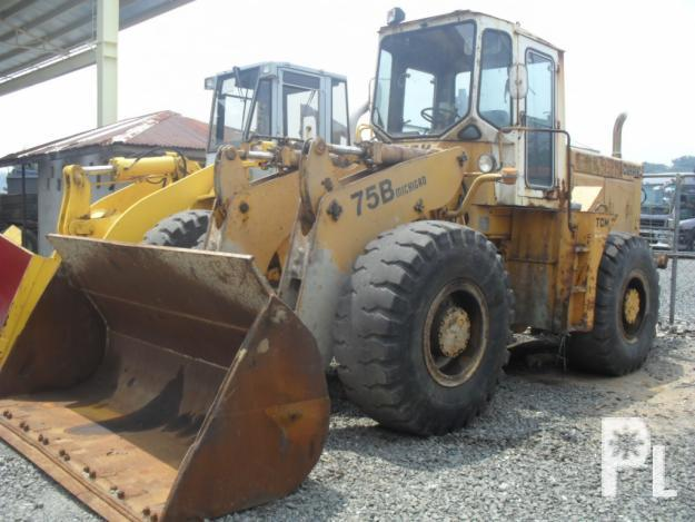 KOMATSU 75B PAYLOADER w/ PD6 ENGINE 4,000 OPERATING HRS