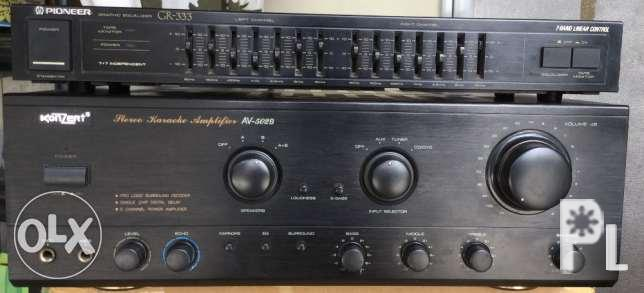 Konzert Integrated amplifier with pioneer equalizer for Sale
