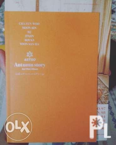 Image gallery for Kpop Astro autumn story album | AmericanListed com
