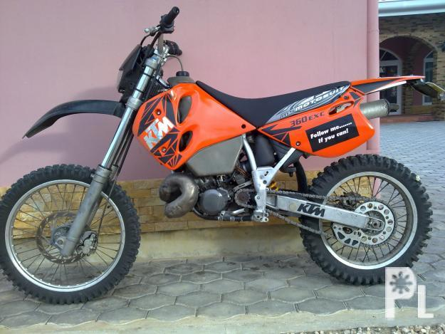 Ktm 360 exc 60 HP for only 130000 PHP
