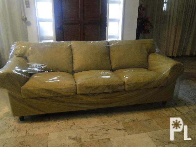 Large Golden Imported Fabric Sofa Davao City For Sale In Davao City Davao Region Classified