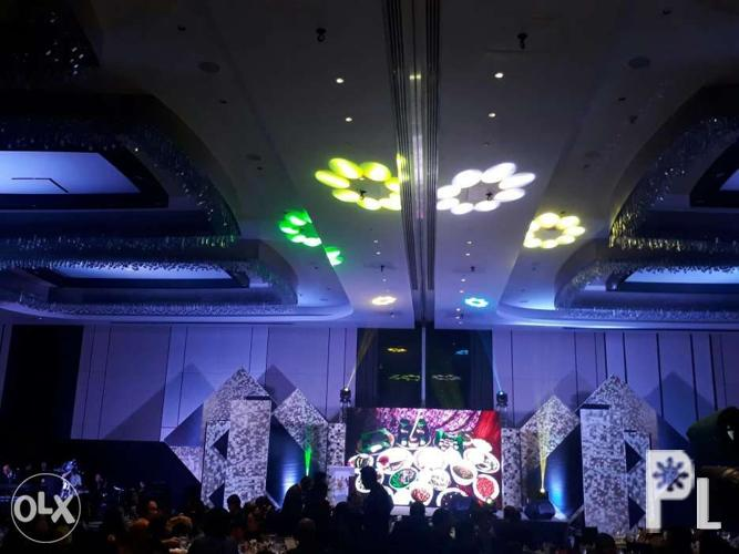 Lcd screen Ledwall stage sound system lights for Sale in