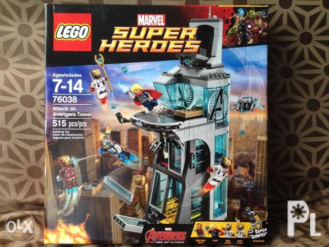 LEGO Superheroes Attack on Avengers Tower 76038 for Sale ...