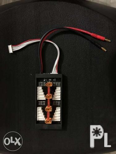 LiPo parallel charging board