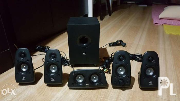 3a8b4dd2a49 Logitech Z506 5.1 surround sound speaker system for Sale in Manila ...