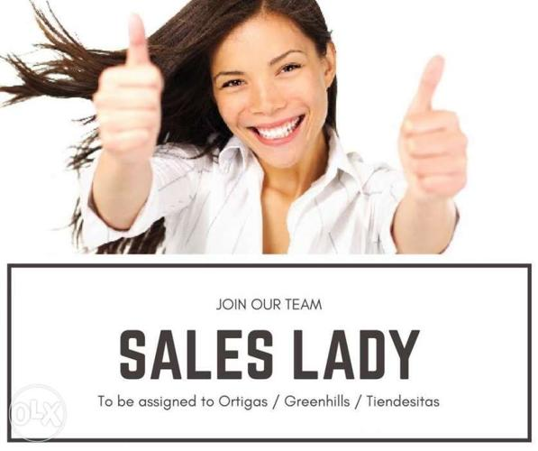 Looking For a Job - Sales Lady