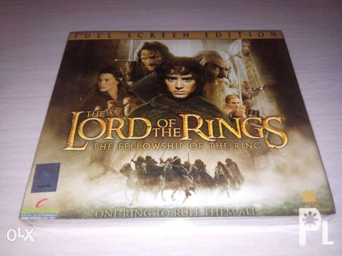 Lord of the Rings Original VCD