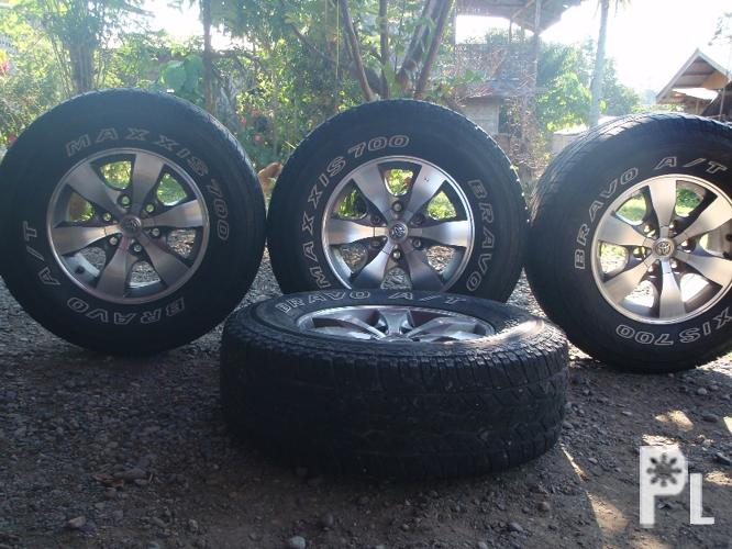 mags 16 inch with tires fortuner stock all in 30k davao city for sale in davao city davao. Black Bedroom Furniture Sets. Home Design Ideas