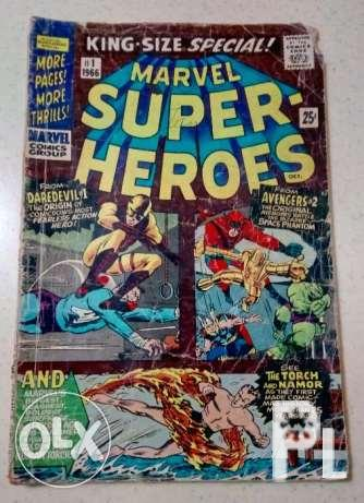 Marvel Super Heroes Comics No.1 issue 1966