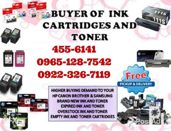 Mataas na Bilihan Buyer of Empty ink cartridges and