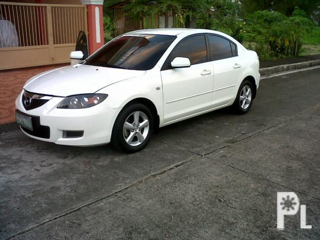 mazda 3 2008 white color for sale in lipa city calabarzon classified. Black Bedroom Furniture Sets. Home Design Ideas