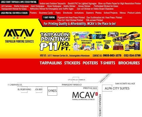 MCAV Affordable & Quality Printing Services! Stickers,