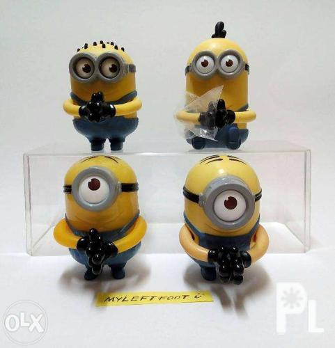 Mcdonald S Happy Meal Toys 2013 : Mcdo mcdonald s happy meal minion toys despicable
