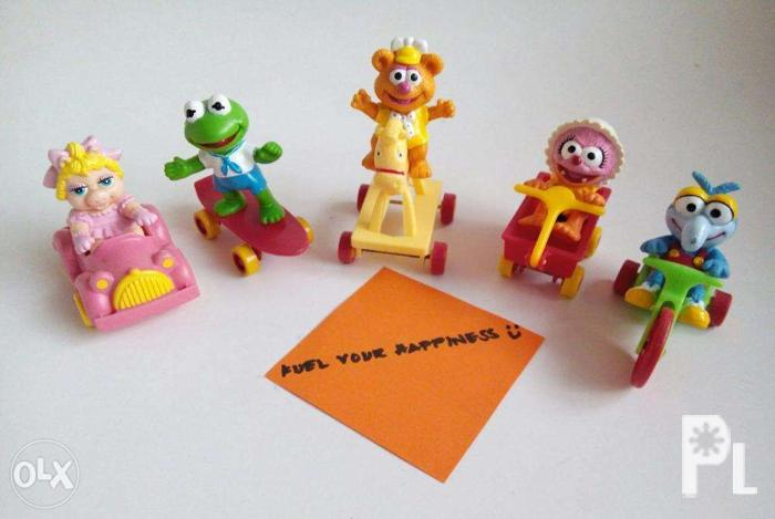McDo McDonalds Muppets Muppet Babies Chip N Dale Happy Meal