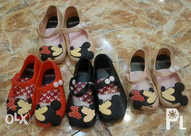 Melissa-inspired Minni Mouse shoe