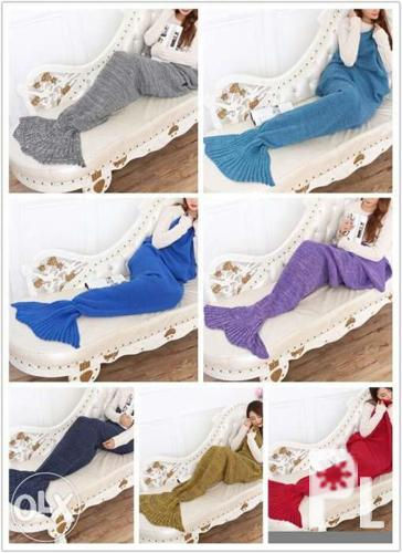 Mermaid tail blanket on EXTENDED SALE Valentines day