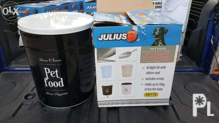 Fs: metal pet food container for Sale in Imus, Calabarzon