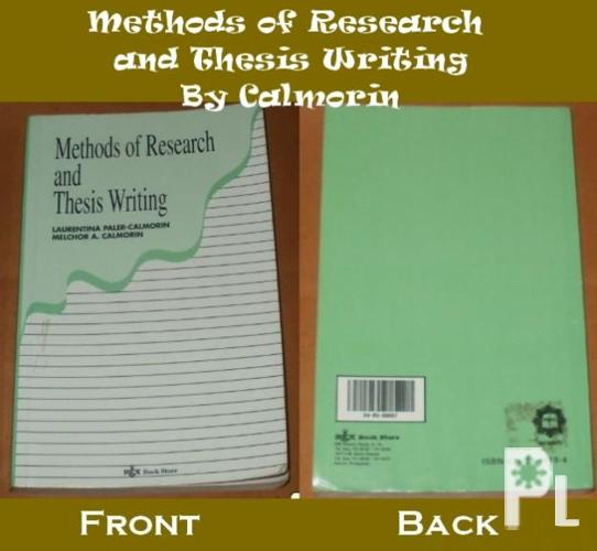 thesis writing by calmorin