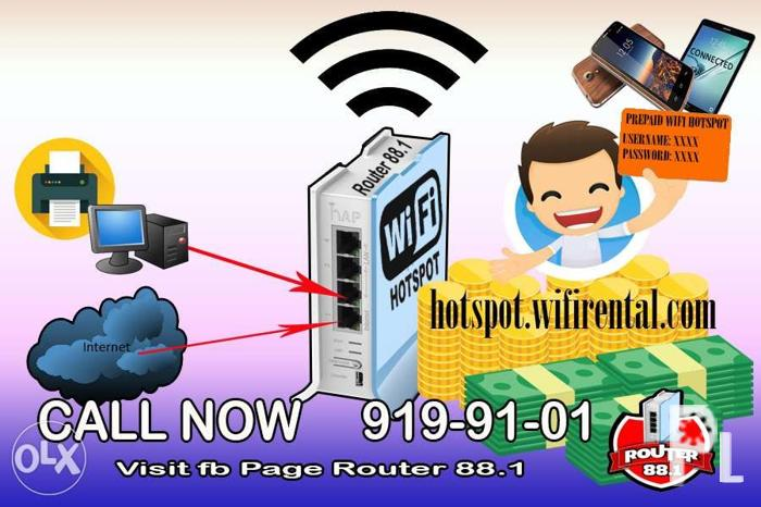 mikrotik haplite Prepaid Wifi Hotspot for Sale in Quezon