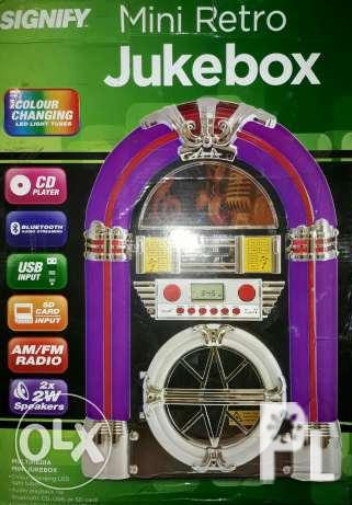 mini retro jukebox bluetooth speaker signify for Sale in Taguig City