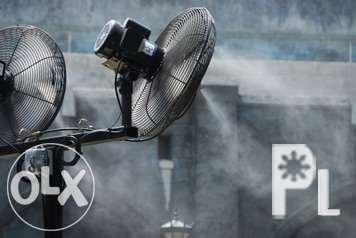 Mist Fan, Evaporative Air Cooler, Industrial Fan